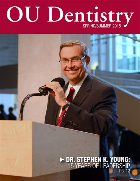 stephen miller dentist stillwater ok ou dentistry spring 2015 by ou dentistry issuu