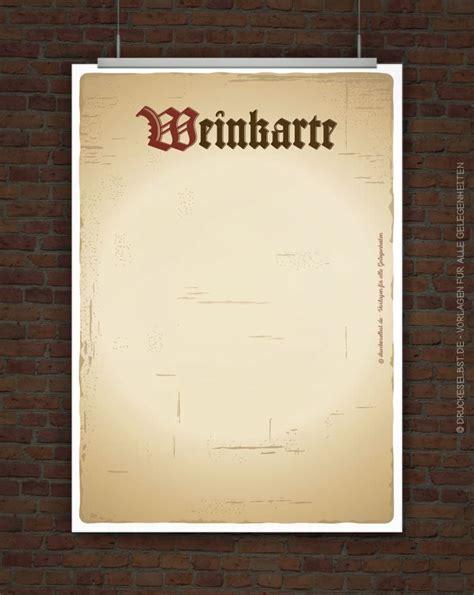 Word Vorlage Weinkarte Drucke Selbst Kostenlose Weinkarte Zum Ausdrucken