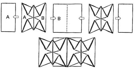 origami map fold map folding ideas bentoplay