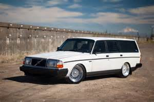 Volvo 240 Wagon All Swedish 427 Rwhp 1989 Volvo 240 Wagon Bring A Trailer