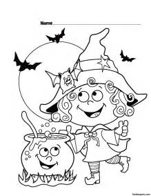 free coloring pages halloween free printables