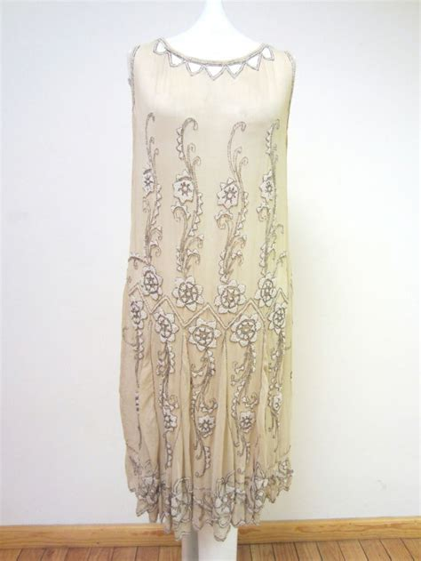 beaded 1920s dress intricate 1920 s beaded dress