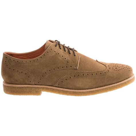 wingtip shoes millar suede wingtip shoes for 9138w save 67