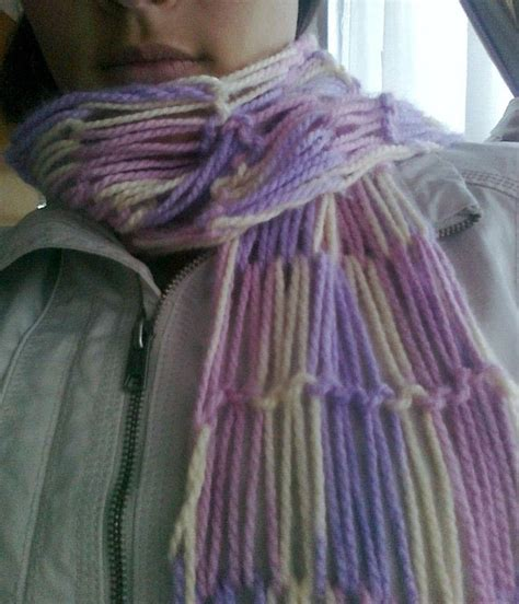 how to finger knit a scarf different finger knitting 183 how to make a knit scarf