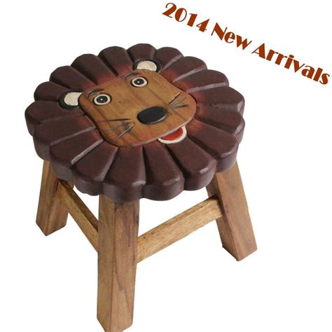 Wooden Toddler Stool by Osaka Wooden Step Stool Chair Mango Wood Timber Children Furniture Alpha Delta Pi