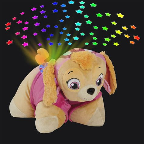 pillow pets sleeptime lites projector pet color