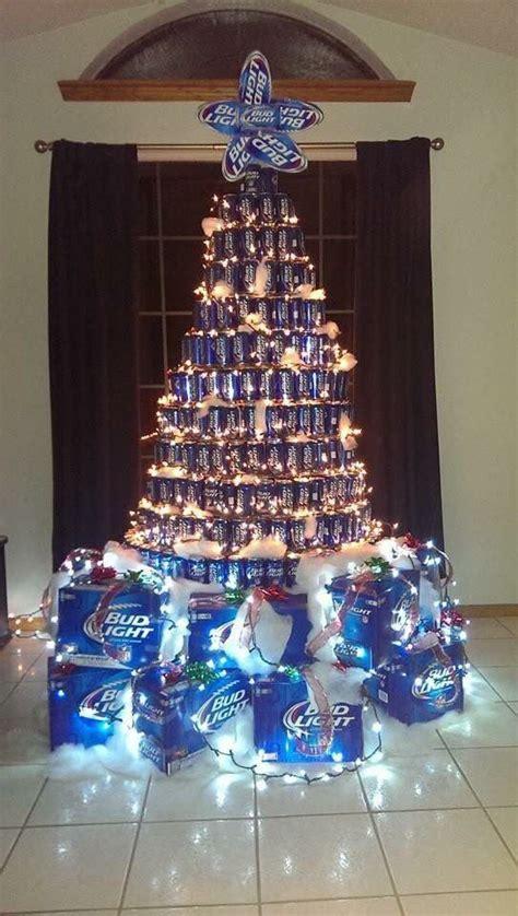 bud light beer  christmas tree unique christmas trees beer  christmas tree christmas