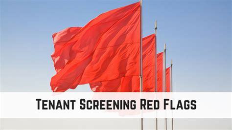 Tenant Background Check California Tenant Screening Flags