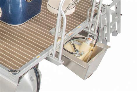 pontoon fuel tank qwest ls options accessories qwest pontoons
