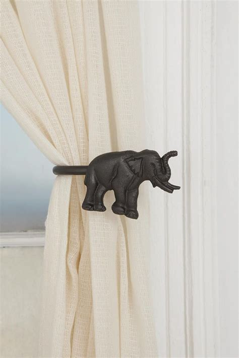 curtain tie backs urban outfitters elephant curtain tie back urban outfitters i am and so cute