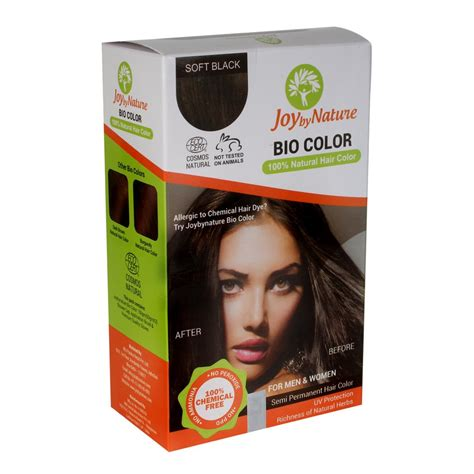 organic hair color products buy joybynature organic soft black hair color 150gm best