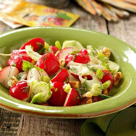 radish salad recipe ravishing radish salad recipe taste of home