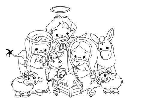 imagenes para dibujar nacimiento dibujo de el nacimiento para colorear dibujos net