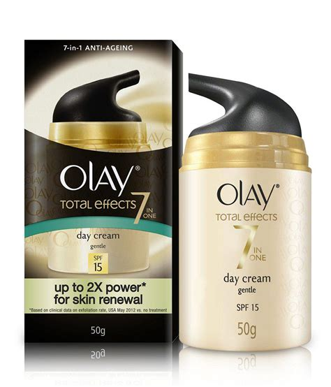 Olay Total Effect Gentle Day olay total effects 7 in 1 day gentle spf 15 50 gm