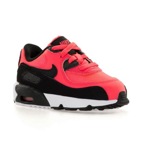 Nike Air Max 90 White Pink nike infants air max 90 mesh 317 trainers pink white from loofes uk