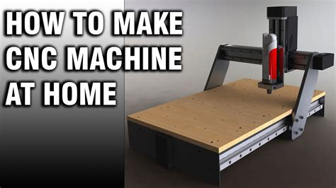how to make professional cnc machine at home