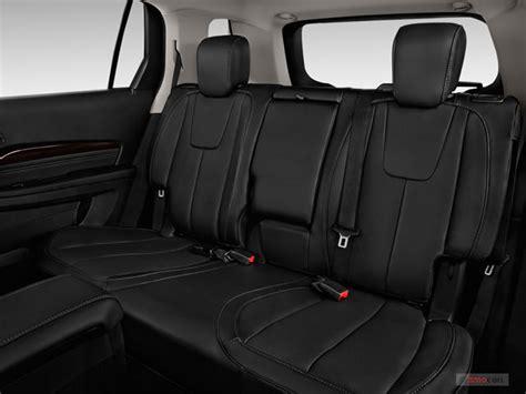 does the gmc terrain a third row seat 2016 gmc terrain interior u s news world report