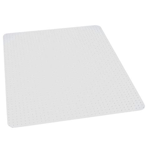 Clear Chair Mats by Es Robbins Performance Clear 46 In X 60 In Carpet Vinyl