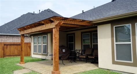 lone siding and windows houston cedar pergola in tx lone patio builders