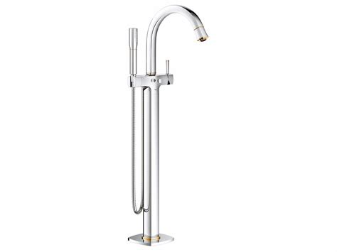 bathtub mixer grandera floor standing bathtub mixer by grohe