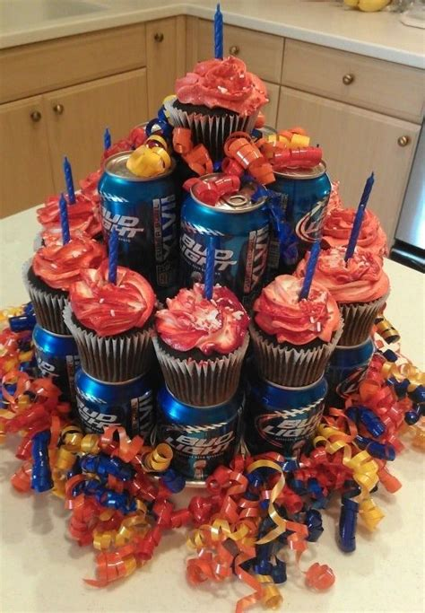 how much is a bud light boy cans and cup cakes hubby doesn t care much for cake