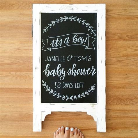 best 25 baby shower chalkboard ideas on baby