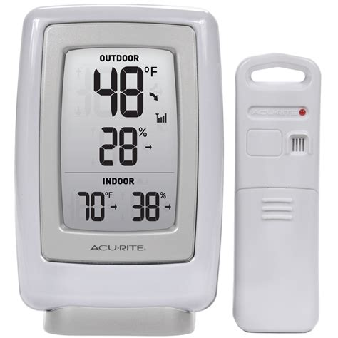 acurite backyard weather thermometer shop acurite digital weather station with wireless outdoor