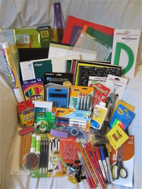 middle school supplies 20 best tools for school supply drive images on pinterest
