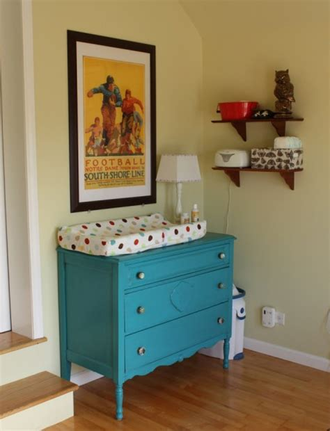 turn ikea dresser into changing table modern nursery buymodernba inside changing table dresser