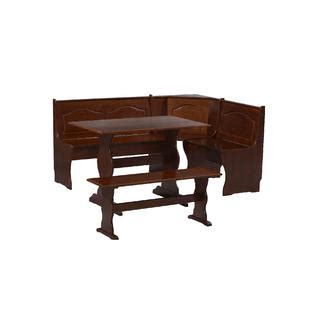 essential home table kmart essential home 3 walnut emily breakfast nook