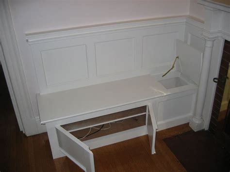 built in bench seating with storage built in bench seat for storage and kid to put their shoes