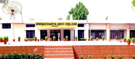 Mba Colleges In Gurgaon Gurugram Haryana by Dronacharya Government College Gurgaon Images Photos