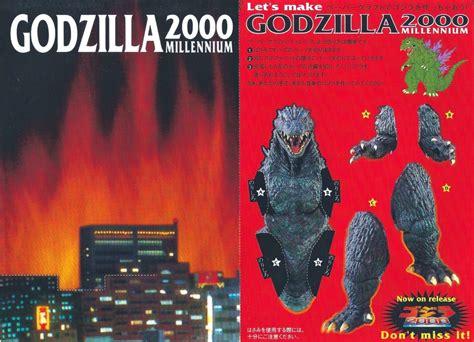 Papercraft Godzilla - the sphinx godzilla 2000 millennium papercraft 1999