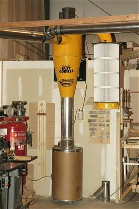 Small Footprint Dust Collection?