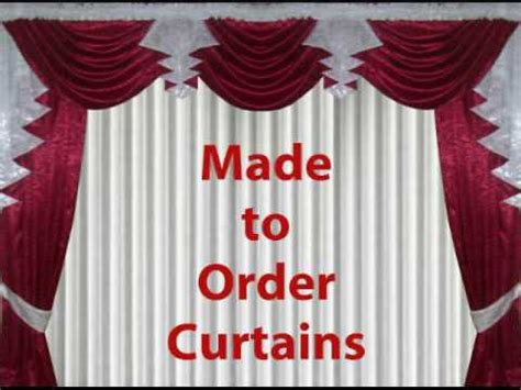 Made To Order Curtains Youtube
