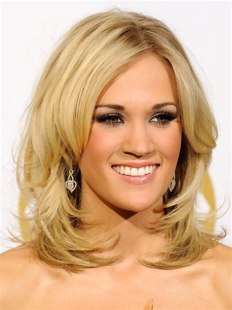 layered hairstyles for medium length hair for 60 36 carrie underwood hairstyles carrie underwood hair
