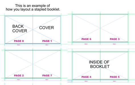 Booklet Template by The Gallery For Gt Blank Book Cover Printable