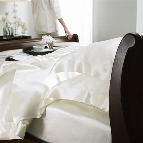 uk bed linen sizes buy gingerlily silk duvet cover ivory king uk size