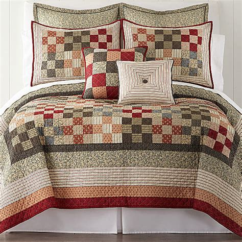 Jcpenney Quilts Bedding by Jcpenney Home Expressions Arlington Quilt Shopstyle Blankets