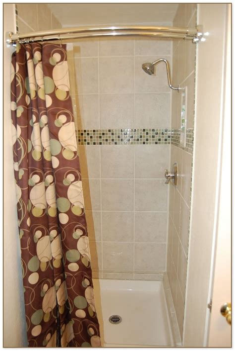 shower stall curtain rods shower stall curtain rod