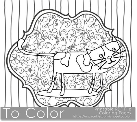 grown up coloring pages cats 1000 images about coloring pages on pinterest coloring