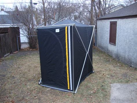 portable ice house bwca ins tent portable ice house boundary waters fishing forum