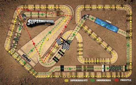 motocross race track design montreal supermotocross track unveiled racer x online