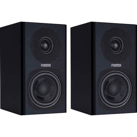 Speaker Fostex fostex pm0 3 2 way powered monitor speaker system black