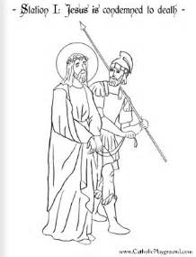 stations of the cross coloring pages coloring page for the station of the cross jesus is