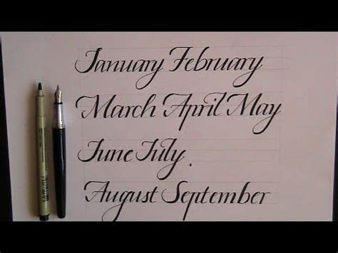 Wedding Running Fonts by Best 25 Cursive Calligraphy Ideas On Wedding