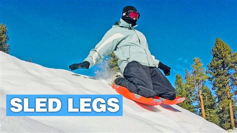sled legs sled legs turn your legs into sleds youtube