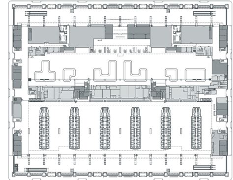 airport floor plan regeneration of taoyuan international airport terminal 1