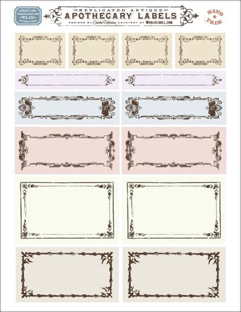 free template for labels for cards western 29 best borders and frames images on frames