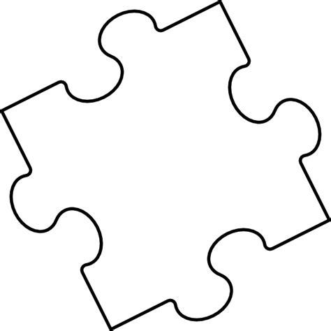 5 piece puzzle template cliparts co